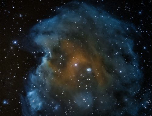 NGC 2174 Monkey Head nebula narrowband
