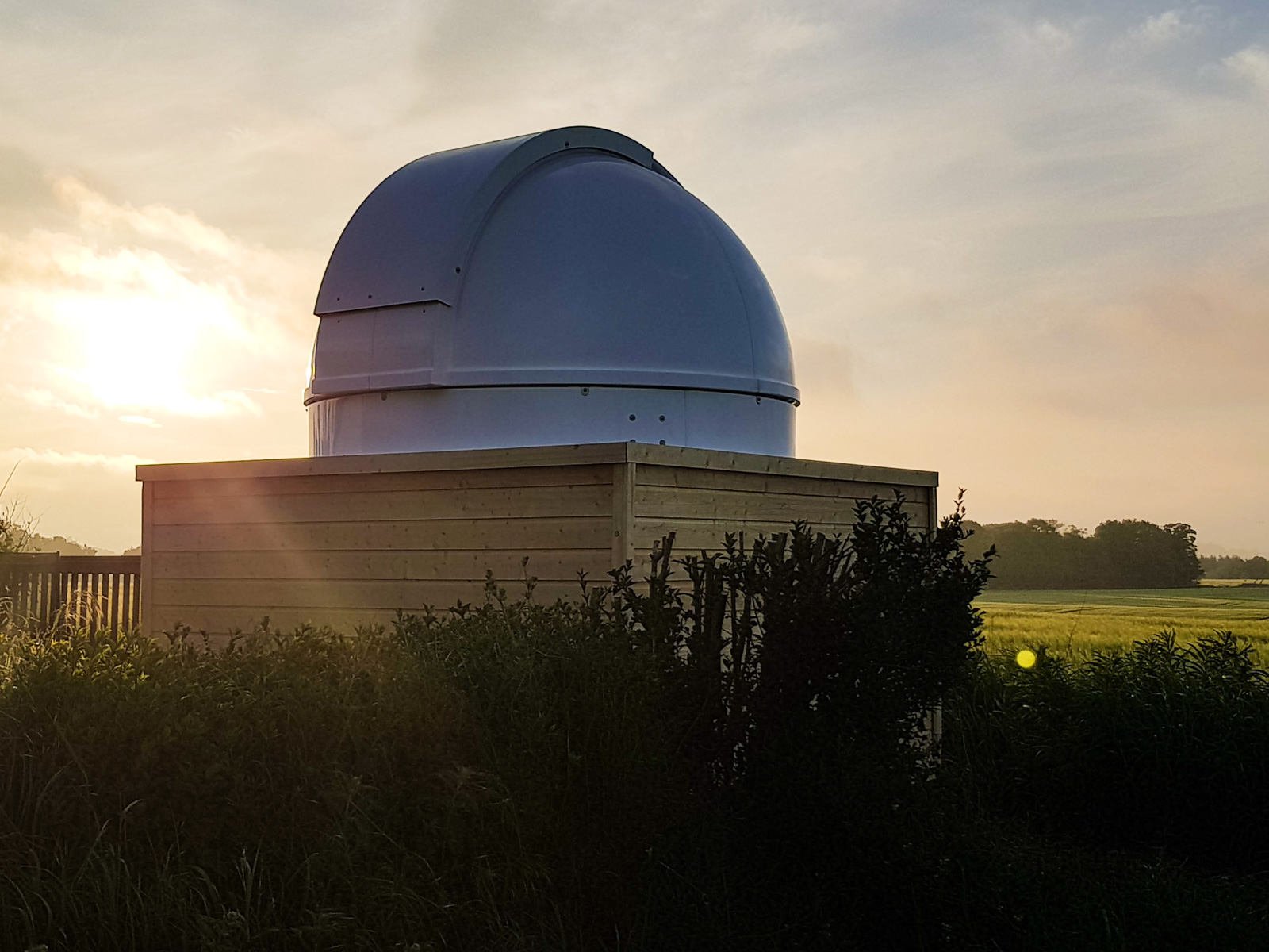Observatory complete
