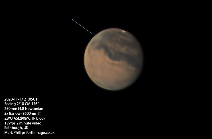 Mars 2020-11-17 2105UT