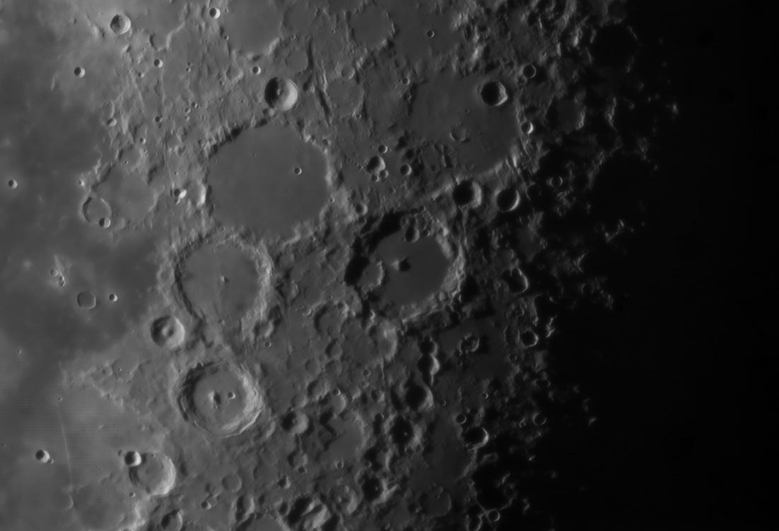Albategnius 21.57 Moon