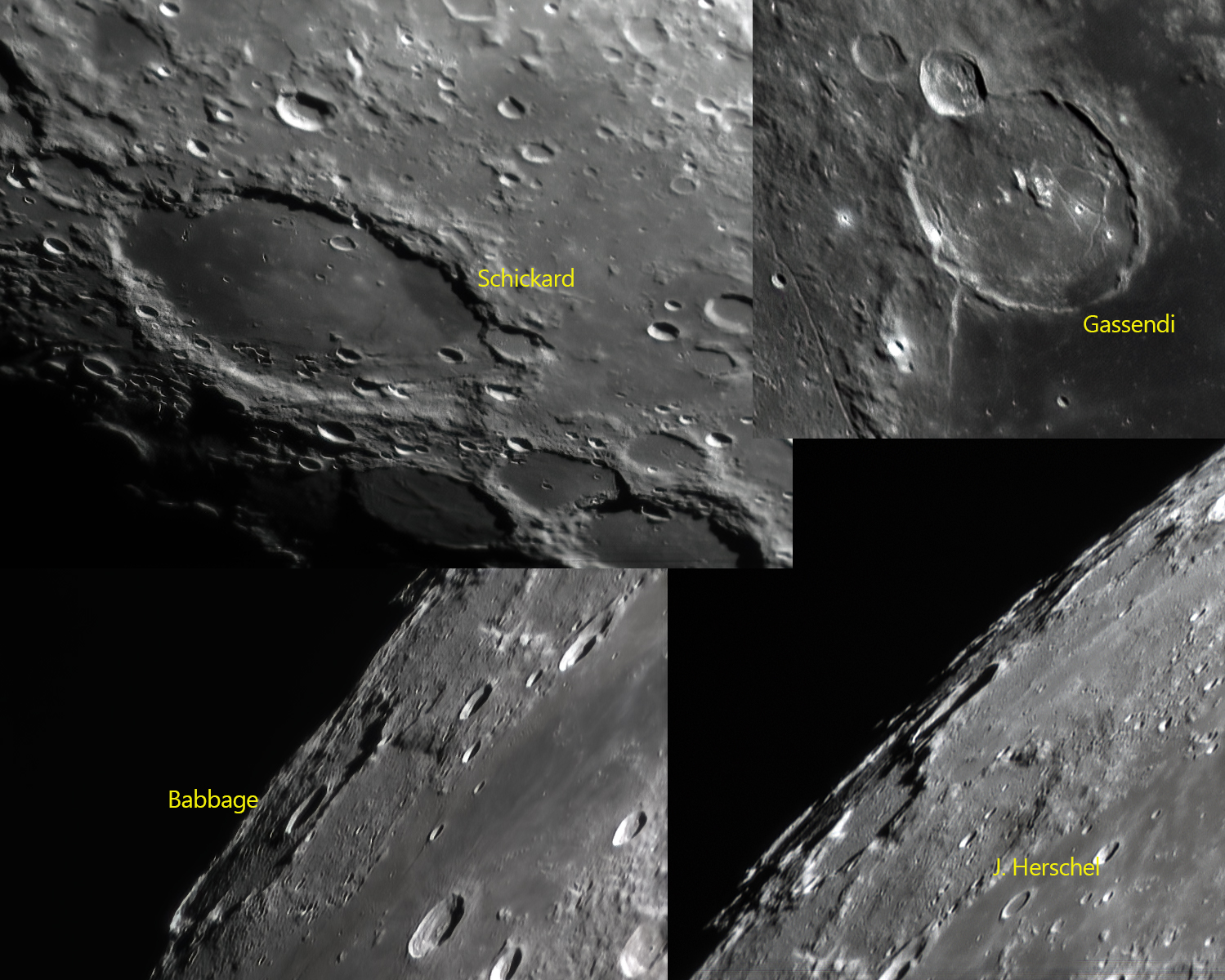 More lunar features for the ASE Lunar-100