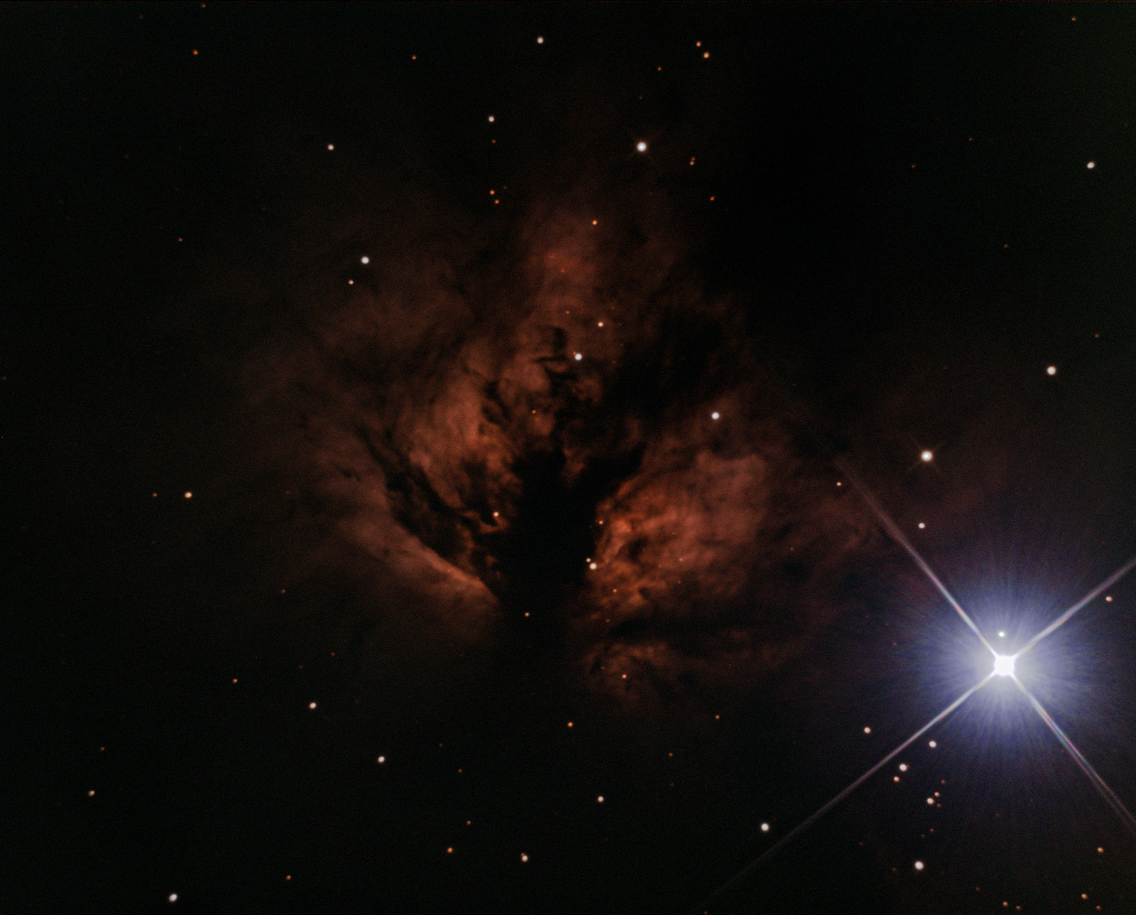 NGC2024 Flame nebula