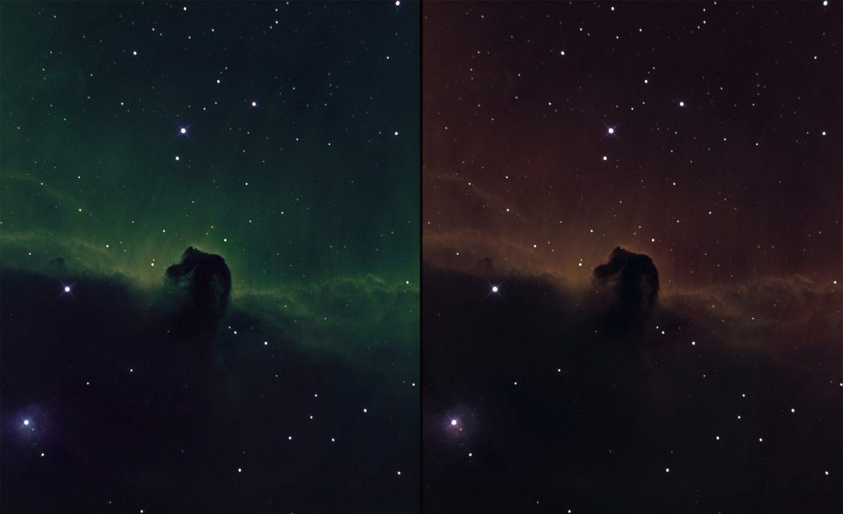 B33 Horsehead nebula in narrowband