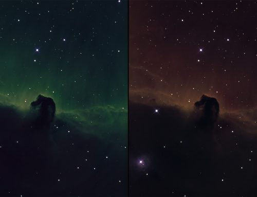 B33 Horsehead in narrowband