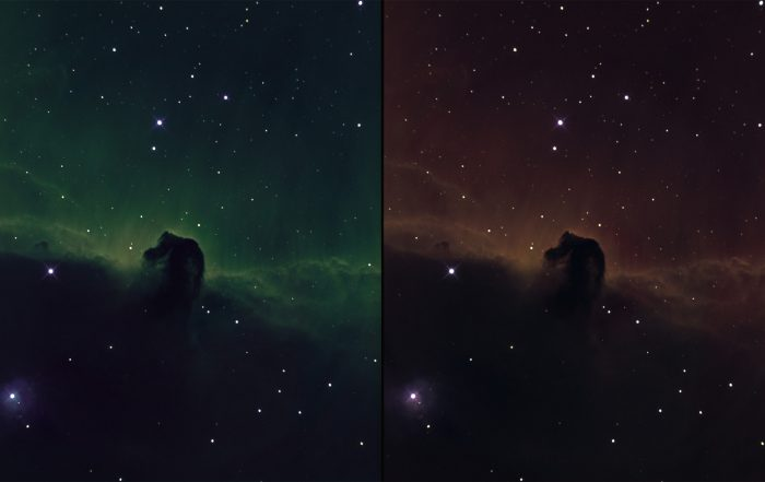 B33 Horsehead nebula in narrowband