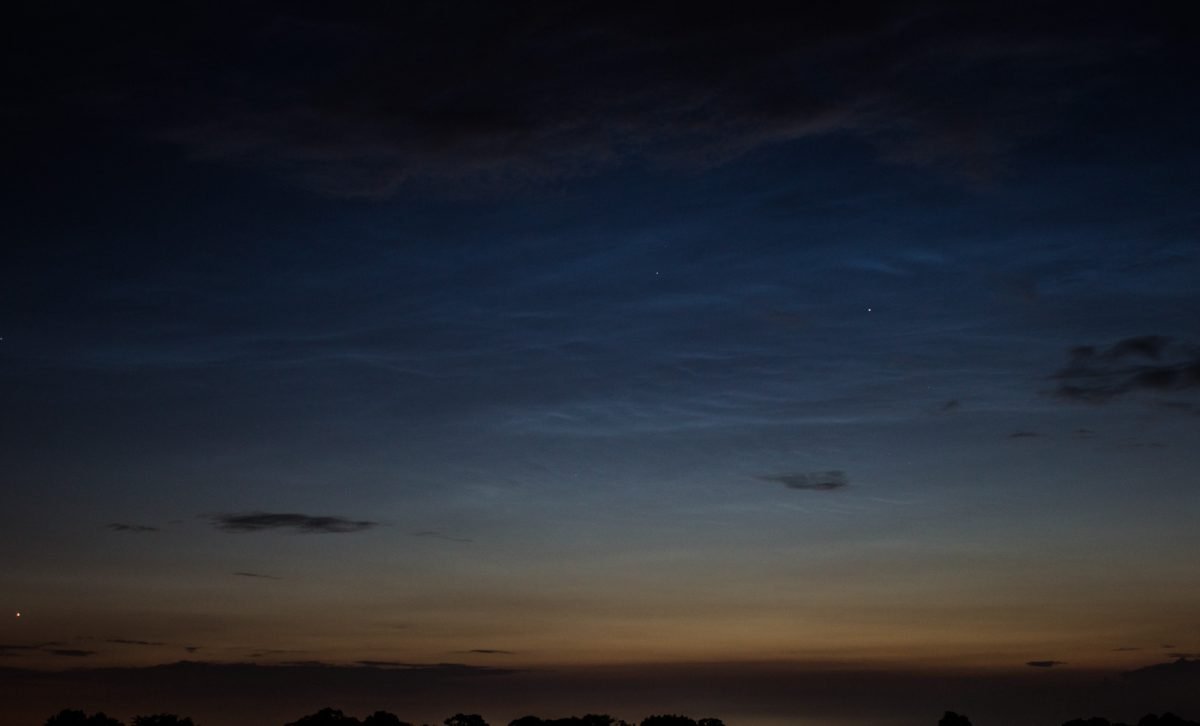 Noctilucent Clouds from Edinburgh