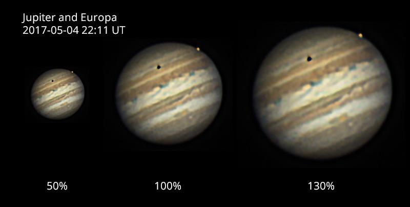 Jupiter Europa transit 2017-05-04 22-11