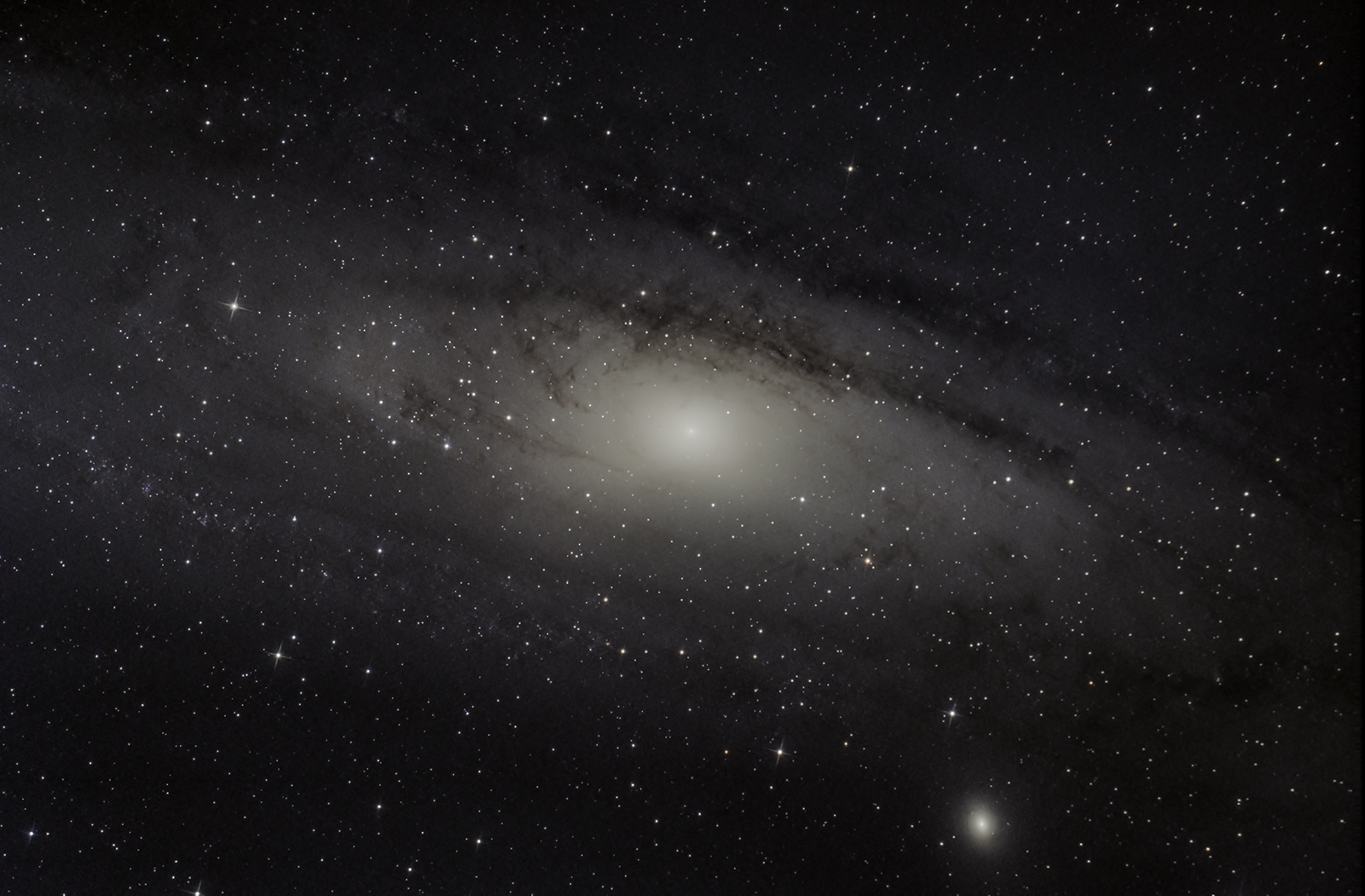 M31 second test of QHY168C