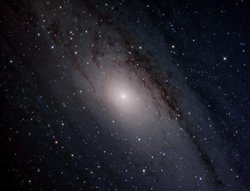 M31 first test of old 10 inch Newt