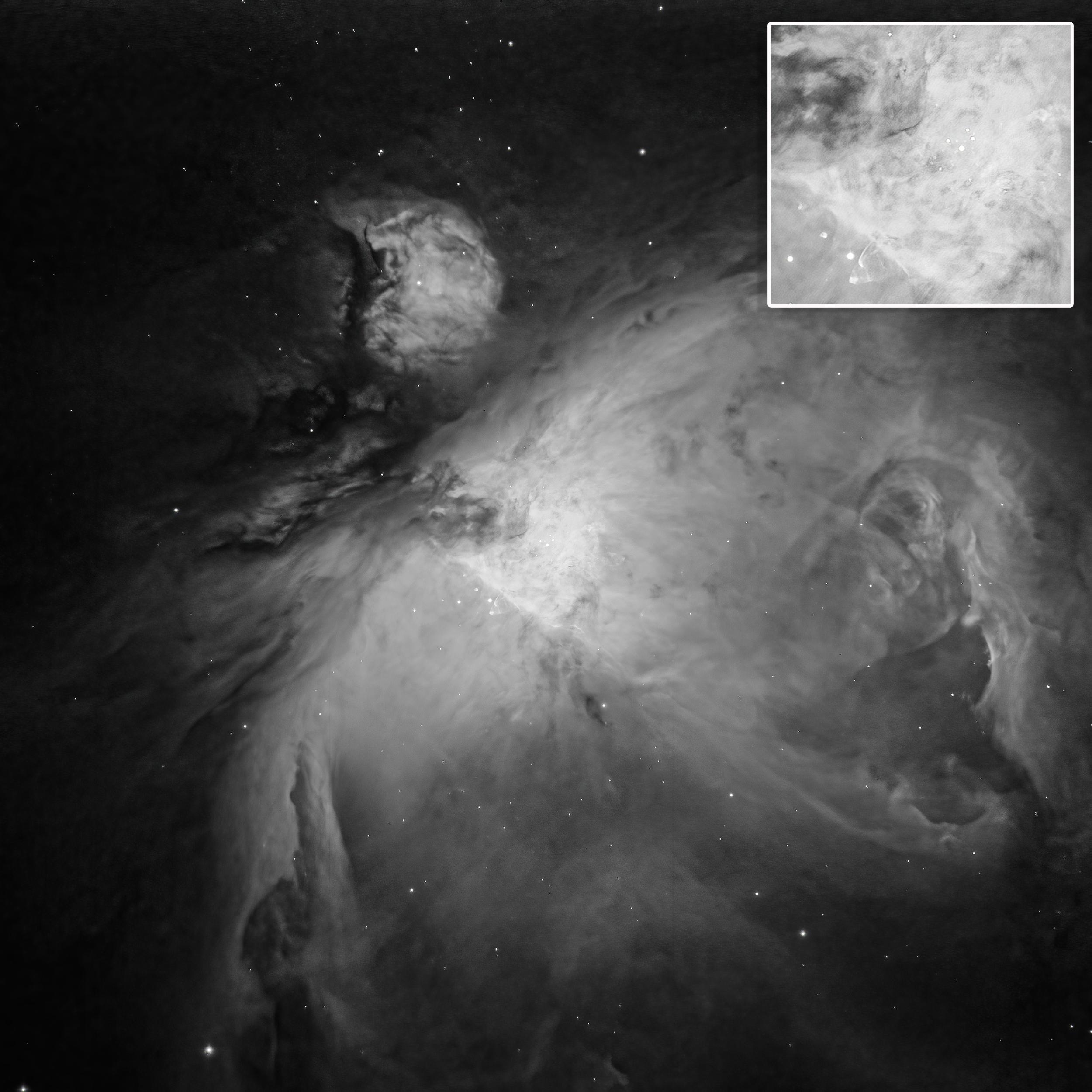 M42 Ha with Telescope Live in Chile CHI-1
