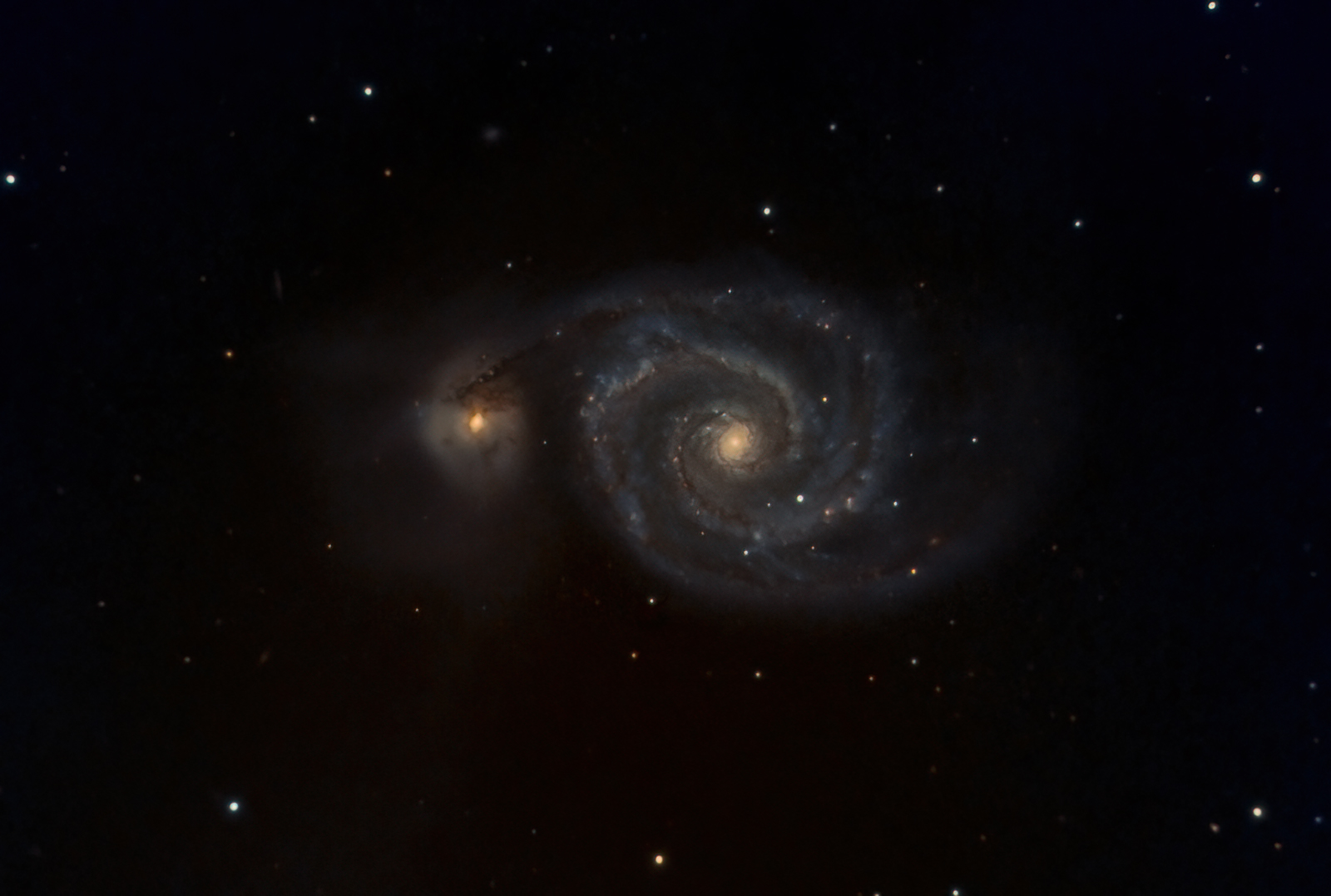 M51 with synth G