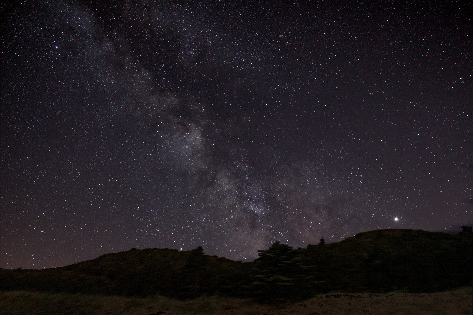 Wide angle Milky Way shots from the Languedoc