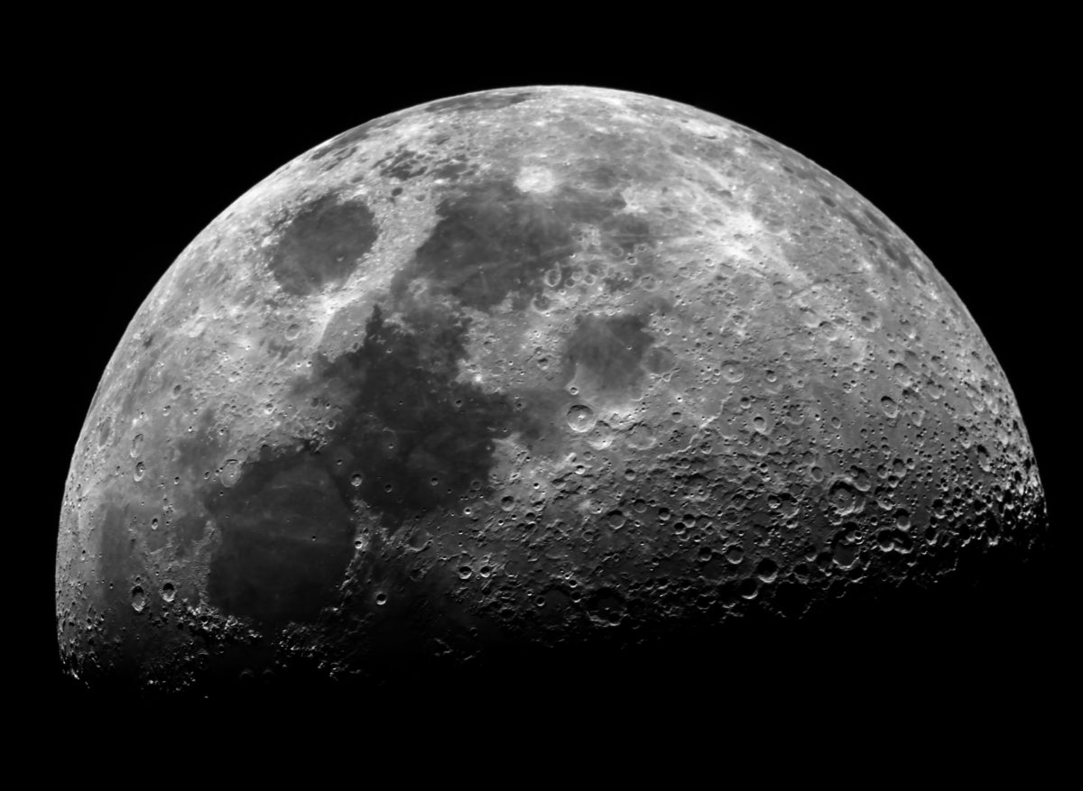 Moon 7.15d 55.9pc Mosaic 6 panes