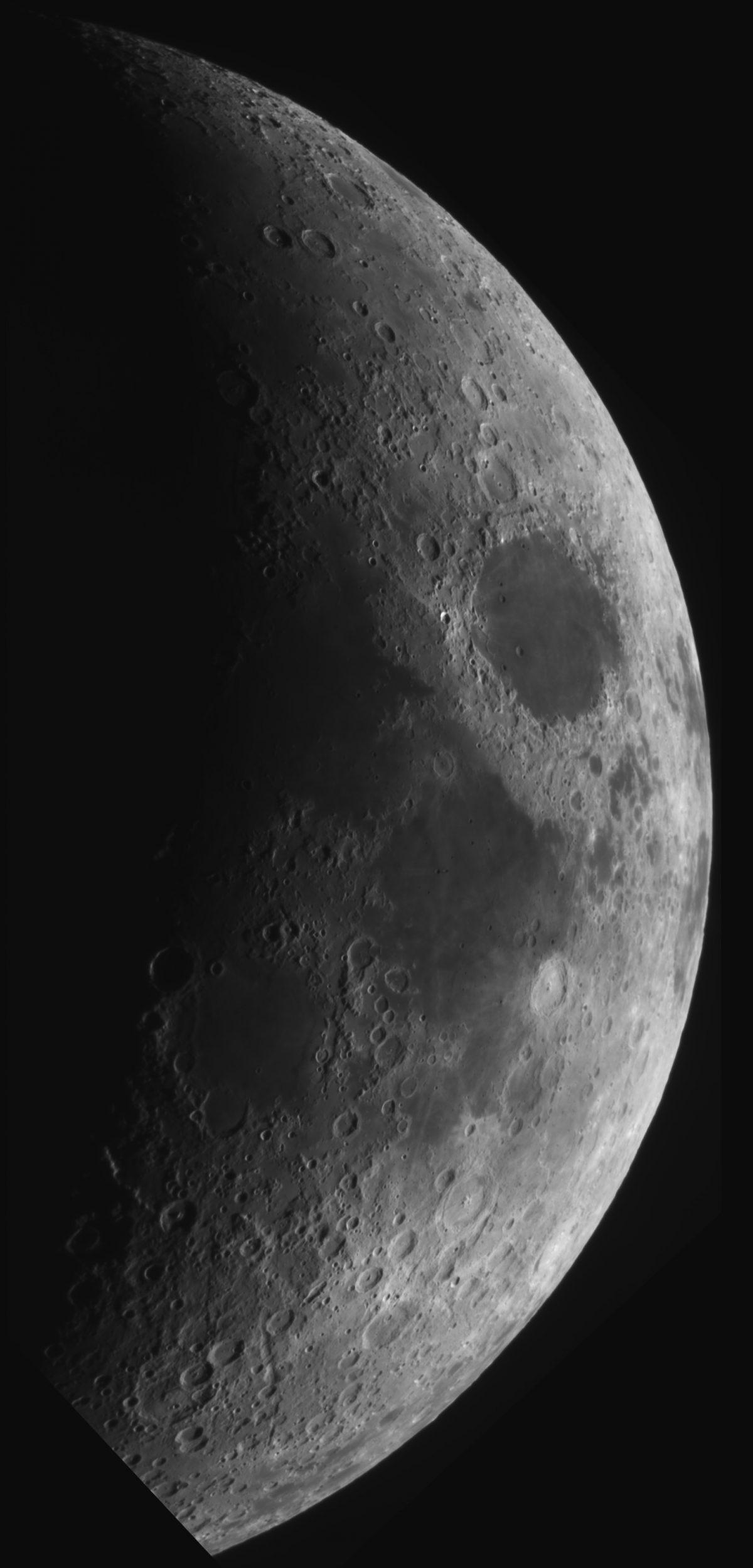 Infrared Lunar Mosaic