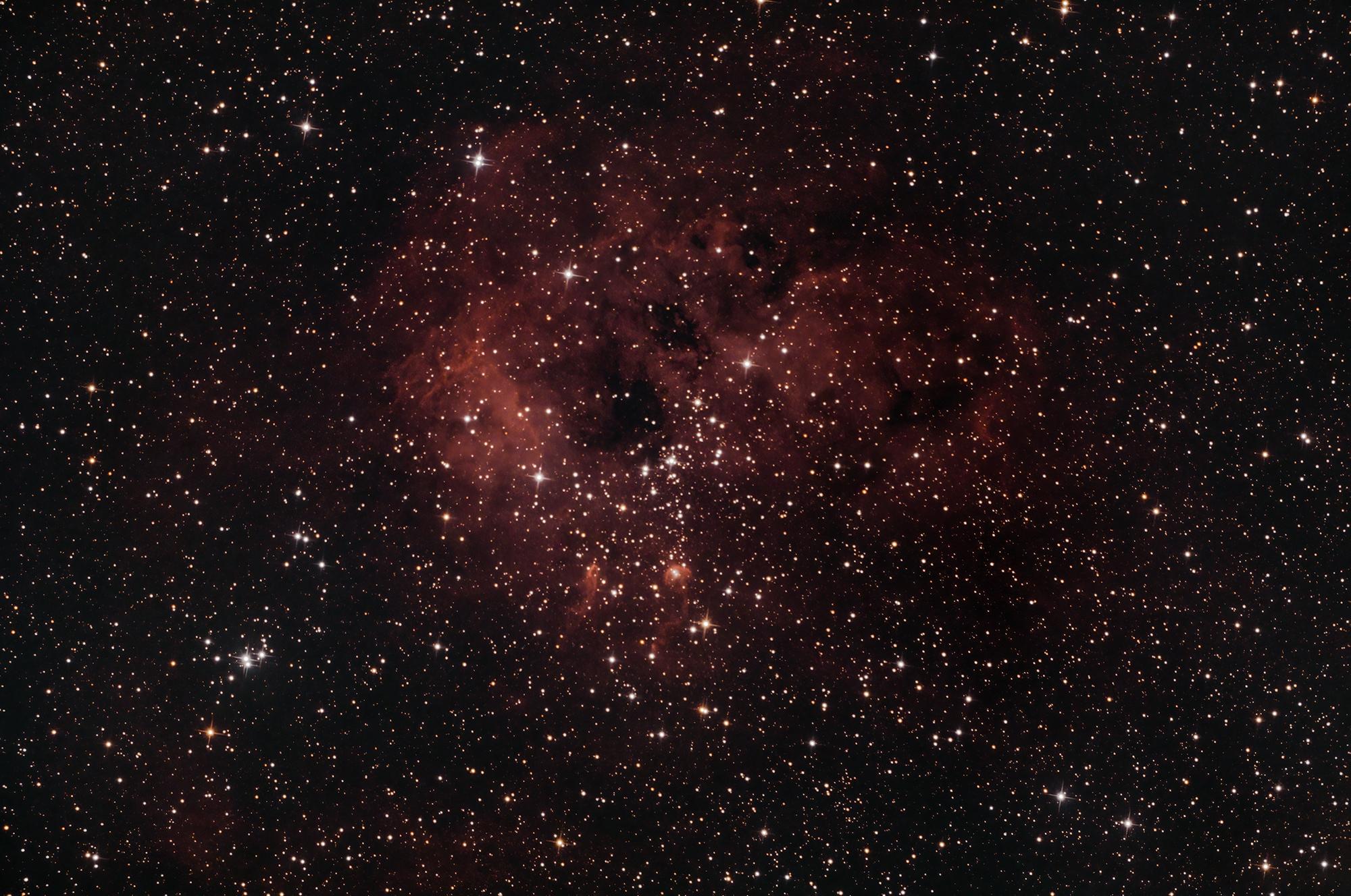 NGC1893 Tadpoles Nebula