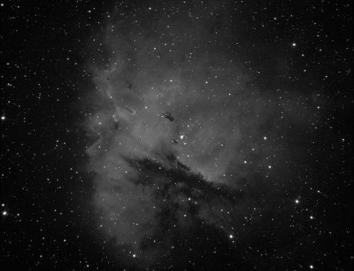 NGC 281 (Pacman nebula) in Ha