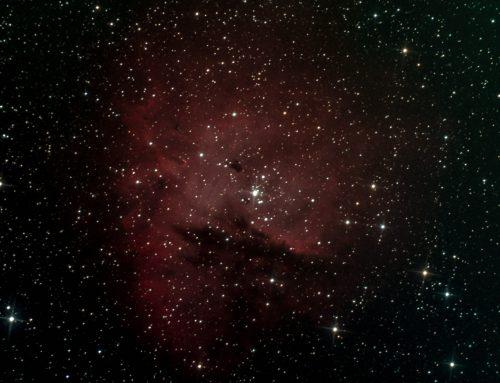 NGC 281 (Pacman nebula) in RGB