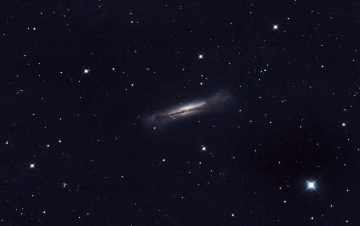 NGC 3628 Hamburger Galaxy