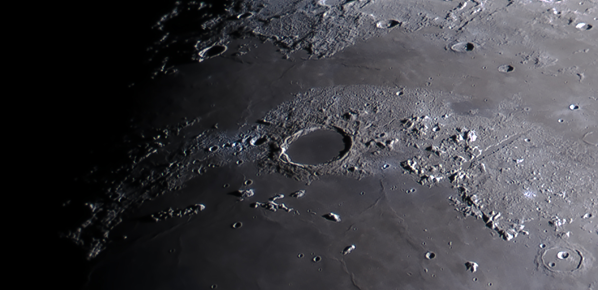 Lunar features for the ASE Lunar-100