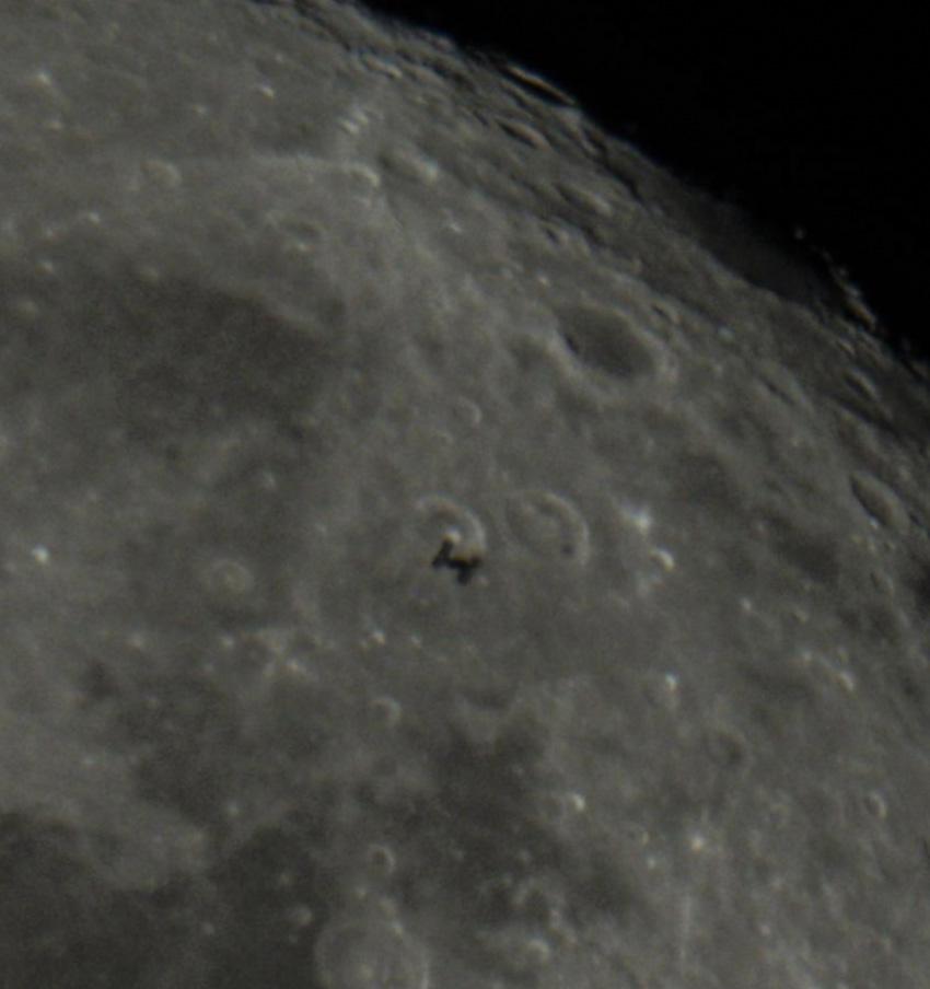 ISS Lunar transit 2021-09-21