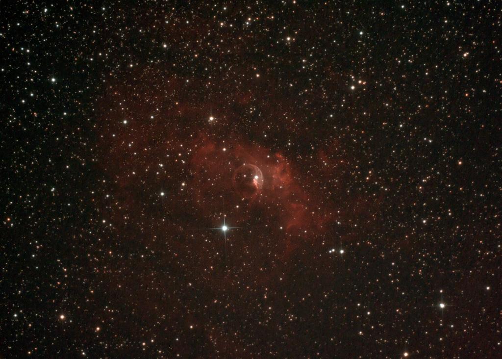 NGC 7635 Closeup